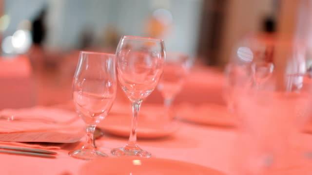 パーティー用テーブル - 盆点の映像素材/bロール