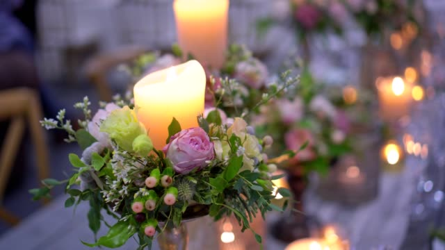 Party - Wedding flower decoration