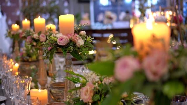 Partij - bloem decoratie bruiloft