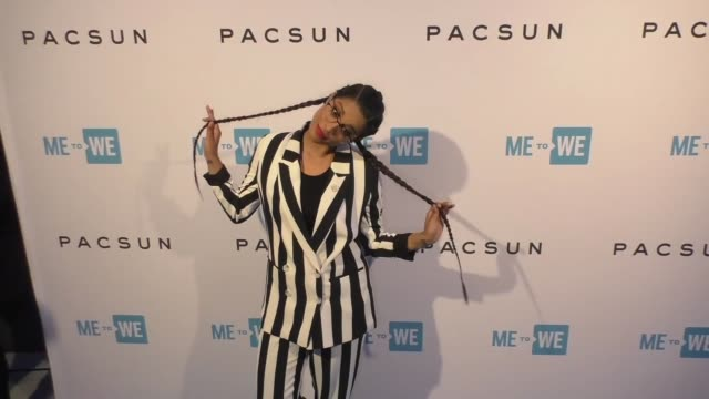 party with a purpose, the official pre-party to we day california on april 17, 2018 in los angeles, california. - monique coleman stock videos & royalty-free footage