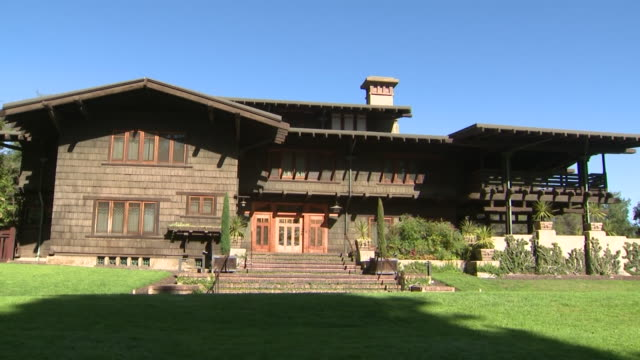 pasadena, ca, u. s. - the gamble house, also known as the david b. gamble house, is an iconic american craftsman home in pasadena, designed by the... - pasadena california stock videos & royalty-free footage