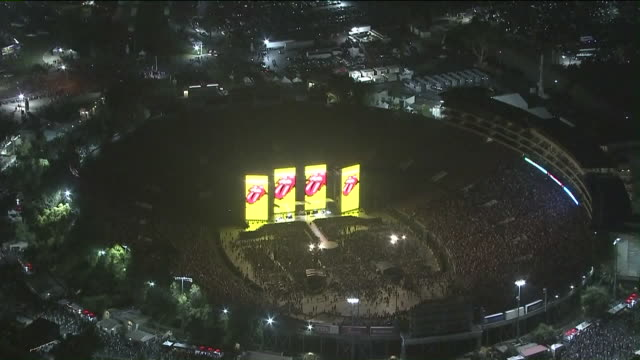 pasadena, ca, u.s., - rolling stones perform at rose bowl on thursday, aug 22, 2019. - rock music stock videos & royalty-free footage