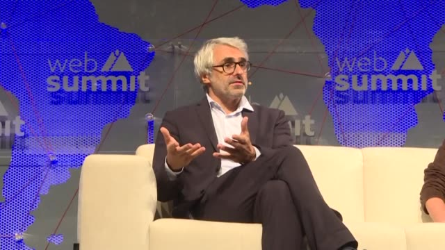 pascal saint amans director of the oecd centre for tax policy and administration says the issue of taxing tech giants is extremely political but that... - oeec video stock e b–roll