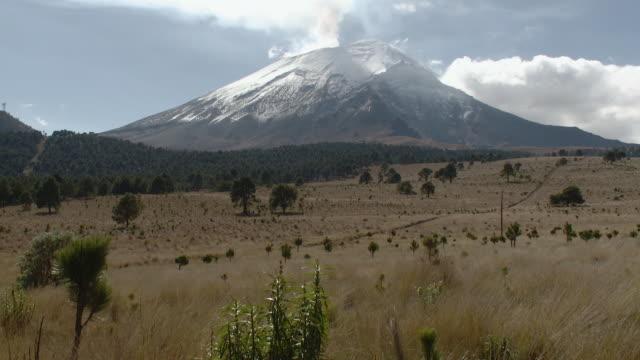 WS Paso de Cortes with Popocatepetl Volcano / Amecameca, Mexico