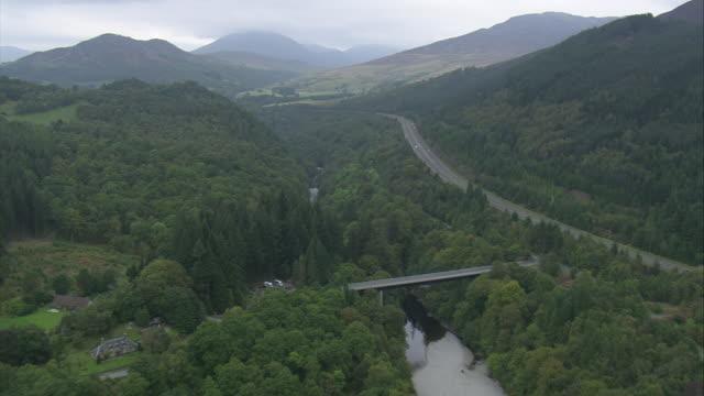 pass of killiecrankie - perthshire stock videos & royalty-free footage