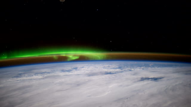 ISS pass over Canada