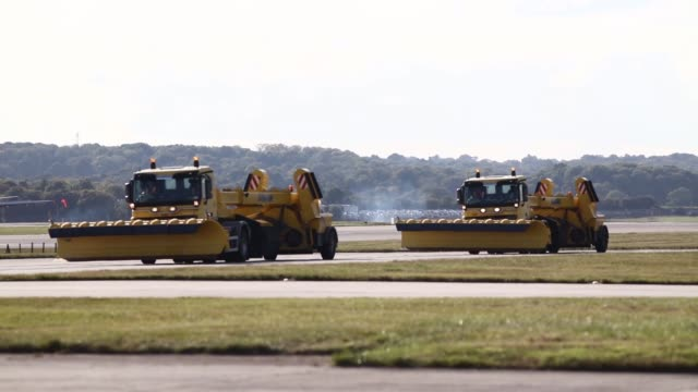 Passenger aircrafts operated by Easyjet Plc and British Airways a unit of International Consolidated Airlines Group SA sit parked at London Gatwick...
