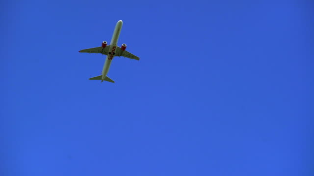 PAN Passenger Airplane Taking Off