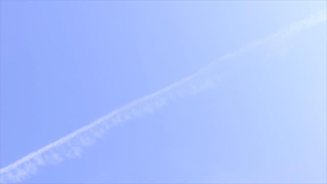 Passenger jet landing at sunrise, 2 shots