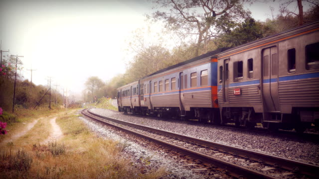 Passenger Train in Thailand