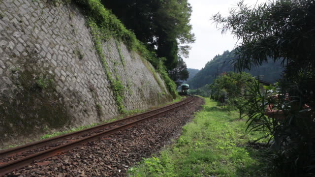Passenger train near Amagase