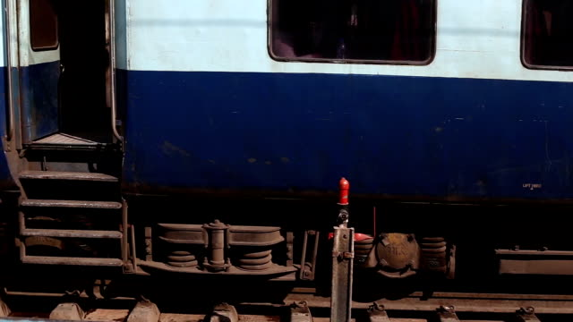 passenger train staining on platform - compartment stock videos & royalty-free footage