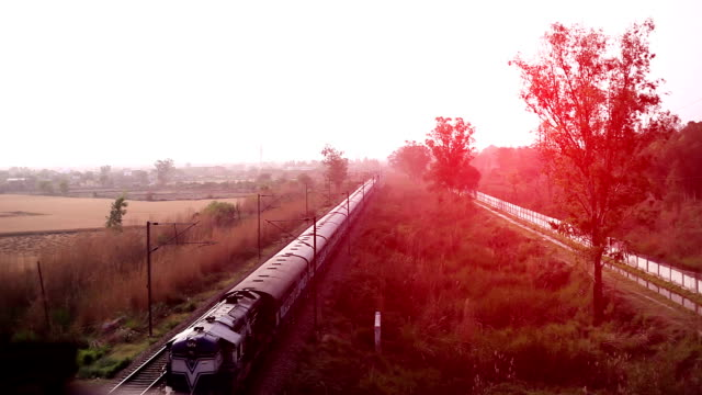 passenger train - railway track stock videos & royalty-free footage