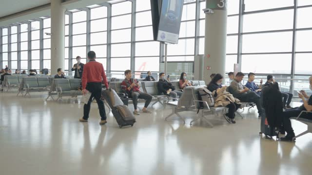 passengers are at the airport,shanghai,china. - queuing stock videos & royalty-free footage