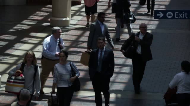 Passengers are seen walking through Union Station Washington DC May 26 2015