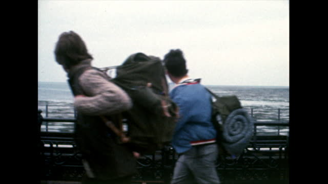 passengers board the ferry at ryde pier; 1969 - 1969 stock videos & royalty-free footage