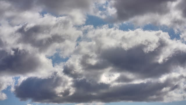 passing clouds time lapse sequence - 50 seconds or greater stock videos & royalty-free footage