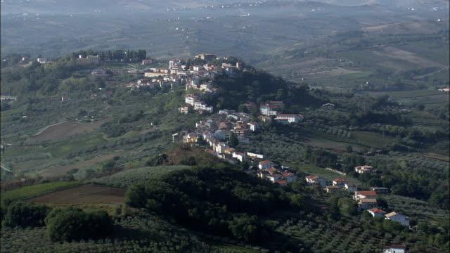 Passing Pollutri  - Aerial View - Abruzzo, Provincia di Chieti, Pollutri, Italy