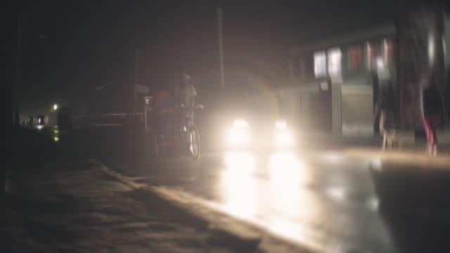 passing rickshaw in anstirabe - image stock videos & royalty-free footage