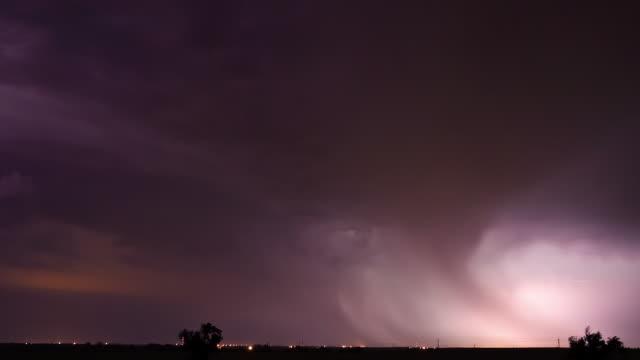 Passing Thunderstorm