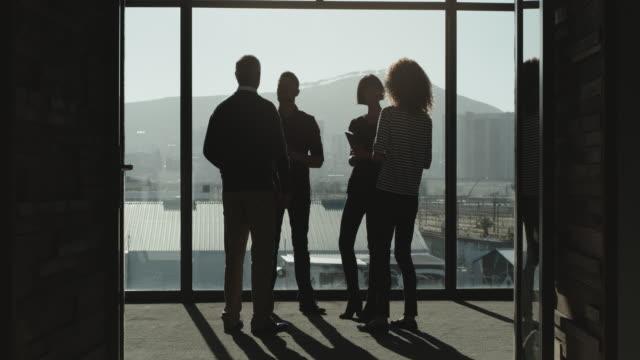 vídeos de stock e filmes b-roll de passion leads to success - retroiluminado