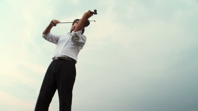 hd: passionately playing the violin - classical stock videos & royalty-free footage