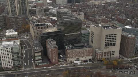 past massachusetts general hospital, boston. shot in november 2011. - massachusetts stock videos & royalty-free footage