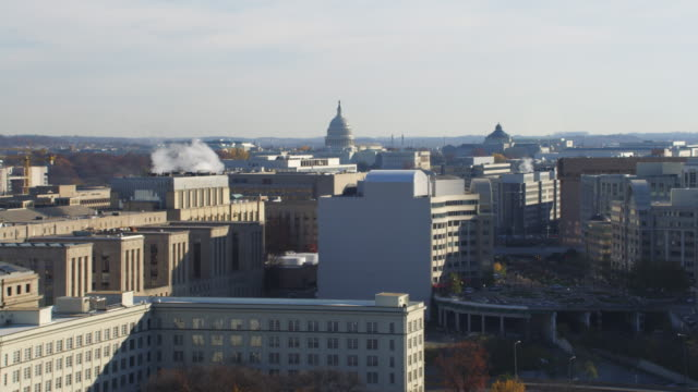 past the capitol building and surrounding areas, washington dc. shot in 2011. - artbeats stock videos & royalty-free footage