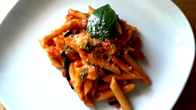 pasta alla norma - pasta video stock e b–roll