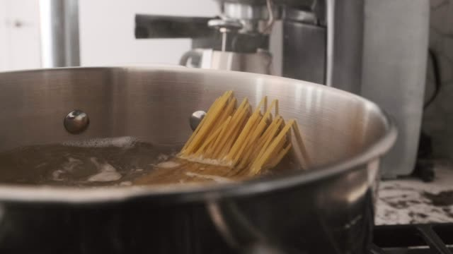 Pasta on the Stove