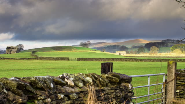 T/L Pastoral Scene in Yorkshire's Ribble Valley