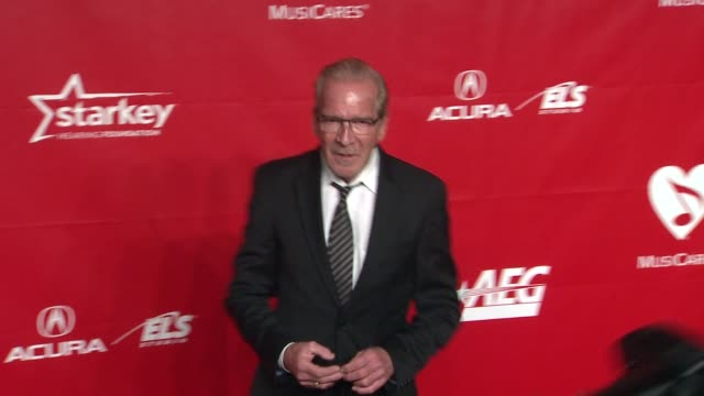 pat o'brien at 2014 musicares person of the year honoring carole king at los angeles convention center on in los angeles california - musicares foundation stock videos & royalty-free footage