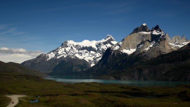 patagonia road trip - patagonia chile stock videos and b-roll footage