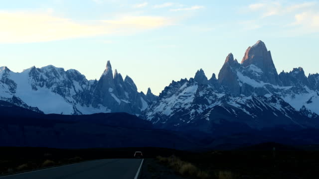 patagonia road trip - chile stock-videos und b-roll-filmmaterial