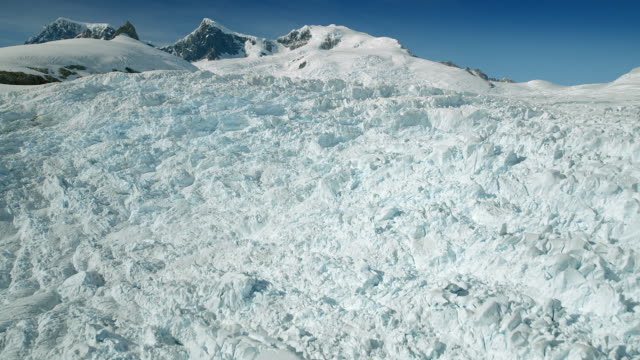 patagonia's ventisquero oriental glacier - icefall stock videos and b-roll footage