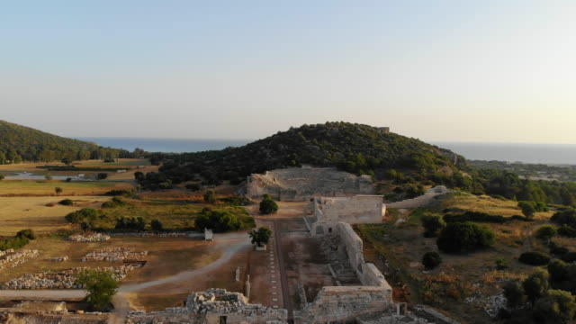 patara ancient city - archaeology stock videos & royalty-free footage