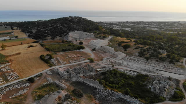 patara ancient city - fethiye stock videos and b-roll footage