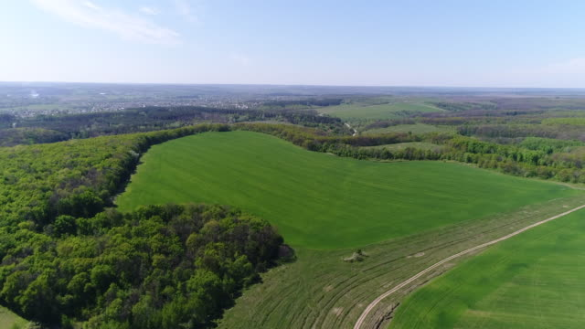 patchwork of slopes and farmlands - patchwork stock videos & royalty-free footage