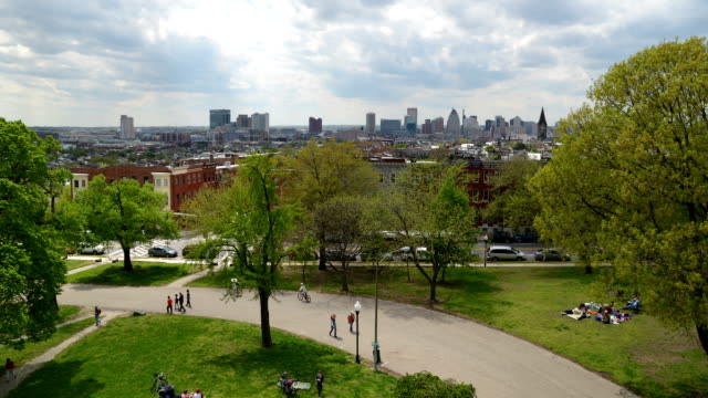 Paterson Park and Baltimore Skyline