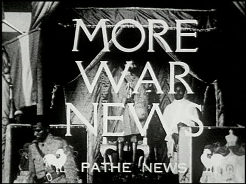 pathe news - 2 of 14 - benito mussolini stock videos & royalty-free footage