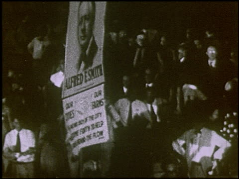 pathe presents al smith and joe robinson the democratic nominees of 1928 2 of 8 - william jennings bryan stock videos & royalty-free footage