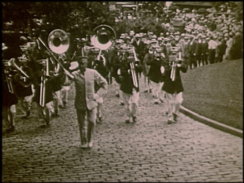 vidéos et rushes de pathe presents al smith and joe robinson the democratic nominees of 1928 3 of 8 - 1928