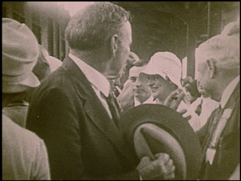 vidéos et rushes de pathe presents al smith and joe robinson the democratic nominees of 1928 7 of 8 - 1928