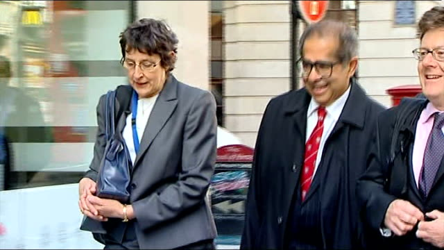 pathologist freddy patel struck off medical register t12041125 / photography ** patel arriving at inquest with others past photographers - pathologist stock videos and b-roll footage