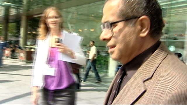 pathologist who ruled on ian tomlinson case suspended for three months england london ext doctor freddy patel out of general medical council gmc... - general medical council stock videos & royalty-free footage