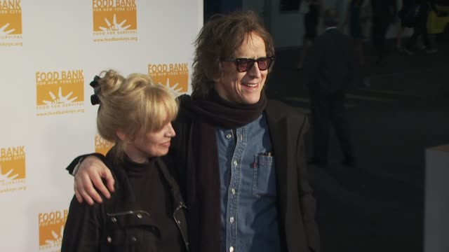 Pati Rock and Mick Rock at the Food Bank for New York City's 8th Annual CanDo Awards Dinner at New York NY