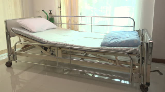 patient bed in hospitals - care stock videos & royalty-free footage