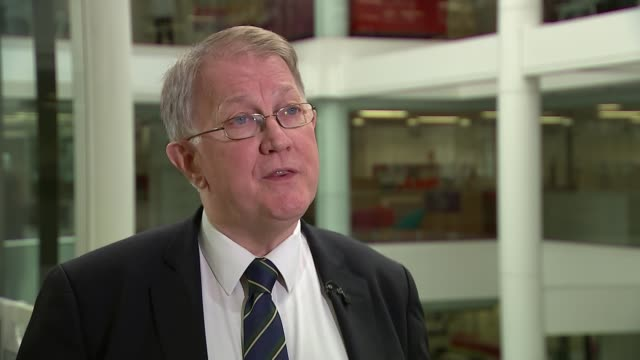Patient safety is 'real concern' in 80 per cent of England's hospitals ENGLAND London INT Various of reporter talking to Professor Sir Mike Richards...