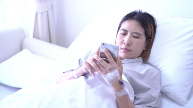 patient using Digital smartphone