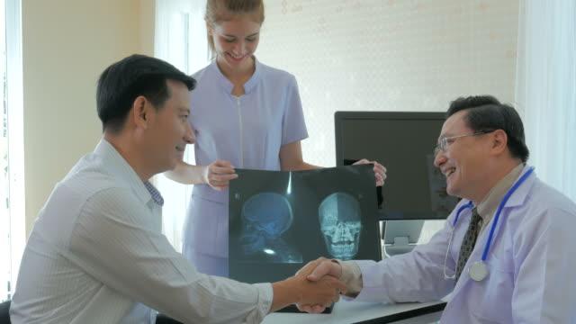 Arzt Patient Besuch, Erfolgskonzept